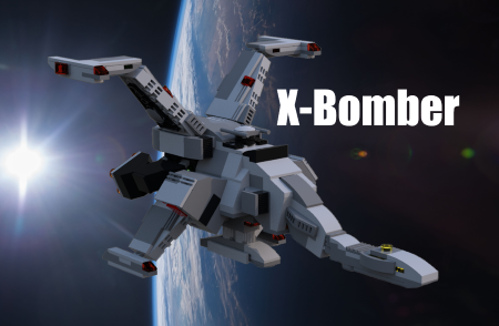 The X-Bomber from Star Fleet - Lego Ideas